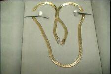 Herringbone Chain 24.25 inch 14 Karat Yellow Gold, 5.85 mm wide, .98 mm thick