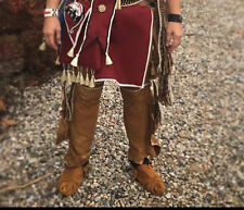 Custom buckskin leggings Native  Made Full length regalia pow wow reenactor