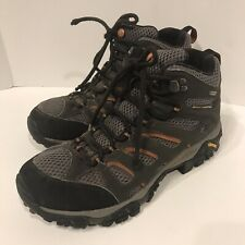 Merrell Moab Boots Men 7.5 Mid Gore-Tex Waterproof Hiker Trail Boots Shoes