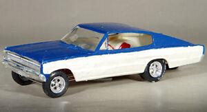 "MPC Roger Lindamood ""Color Me Gone"" AWB 1967 Charger Funny Car Built Kit"