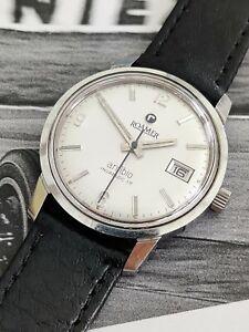 vintage Roamer Anfibio Incabloc 17 watch cal MST430 430-1122.003