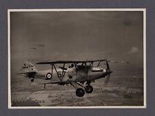 HAWKER HIND K5494 ORIGINAL VINTAGE PRESS PHOTO RAF 57 SQN