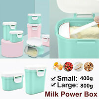 Infant Baby Milk Powder Dispenser Food Container Pot Storage Feeding Box Large