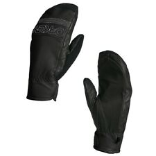 Oakley Mittens Factory Park Mitt Leater - Size Large Black
