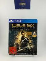 Deus Ex Day One Edition Steelbook / Sony Playstation 4 Spiel Ps4 mit OVP, CIB