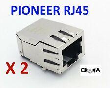 2 x Pioneer DKN1650 Ethernet Socket STRONG TYPE CDJ900 CDJ2000 & Nexus RJ45 UK
