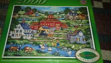 """BONNIE WHITE """"GENTLY DOWN THE  STREAM"""" MASTER PIECES PUZZLE  2000 PIECES RARE"""