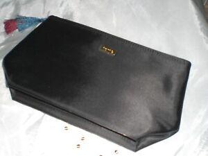 Tarte Black Tassel Makeup Cosmetic  Bag  LARGE