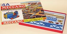 MECCANO FRANCE SET No.4A VINTAGE 1960's ISSUE GREAT CONDITION MOSTLY UNUSED