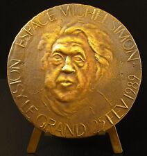 Médaille anniversaire de l'epace Michel Simon acteur suisse Noisy le Grand medal