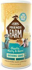 More details for tiny friends farm bathing dusting sand powder - chinchilla hamster degu - 1kg