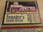 HO Scale BAR MILLS FENSTER'S FARM FRESH  Craftsman Kit #0142 Sealed in Box