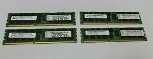 4 x 8GB 32GB 2Rx4 PC3-12800R Server Workstation ECC Arbeitsspeicher Micron RAM