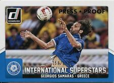 Donruss CALCIO 2015 Argento [199] INT. SUPERSTARS Chase Card #65 GIORGOS SAMARAS