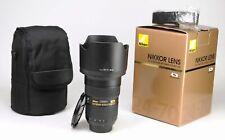 Nikon AF-S 24-70mm F2.8 G ED Autofocus Zoom Lens + Front / Rear Lens Caps & Hood