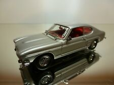 DETAILCARS 303 FORD CAPRI 2300 GT 1969 - LHD - GREY 1:43 - GOOD CONDITION