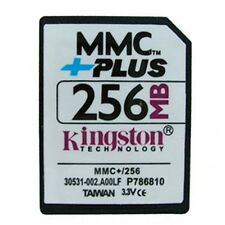 10 x Kingston 256MB MultiMedia Memory Card 256MB MMC Plus card 13PINS