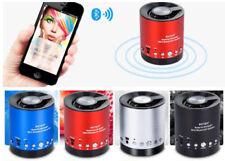 MINI CASSA SPEAKER WIRELESS PORTATILI USB MICROSD RADIO FM PC DISPLAY WS-663BT