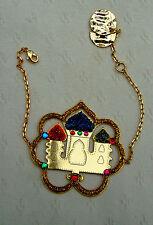 N2 ALADIN bracelet in gold colour with enamel