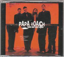 PAPA ROACH - TIME AND TIME AGAIN - CD SINGLE (NUOVO SIGILLATO)