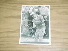 JC Snead Autographed Signed PGA Golf Vintage Photo