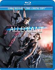 The Divergent Series: Allegiant (Blu-ray/DVD, 2016, Canadian)français inclus