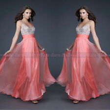 Elegant Women Formal Long Dress Wedding Bridesmaid Evening Party Cocktail Prom