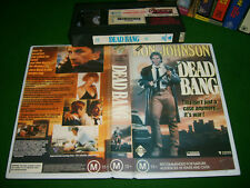 Vhs *DEAD BANG (1989)* Rare Oz Roadshow Issue - Crime Action Drama Thriller