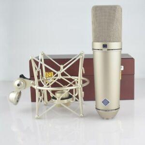 Clone Neumann U87 Ai microphone avec des composants hauts de gamme