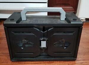 """Husky 18 Compartment Small Parts Organizer  16"""" w x 10"""" tall x 8"""" deep"""