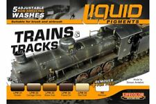 LifeColor LP05 Liquid Pigments Series Trains & Tracks