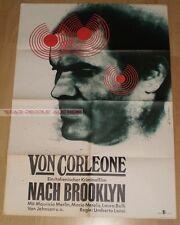 MAURIZIO MERLI - Da Corleone a Brooklyn 1979 * RARE EAST GERMAN ART POSTER