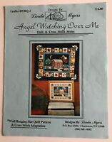 Linda Myers Angel Watching Over Me Cross Stitch Chart & Quilt Pattern 1996 OOP