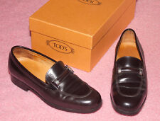 TOD'S ♥ Pantoufles ♥ Chaussures ♥ Taille 35,5 ♥ * topst * ♥ en cuir lisse ♥ Handmade ♥