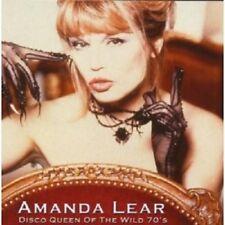 "AMANDA LEAR ""DISCO QUEEN OF THE WILD 70'S""  CD NEW+"