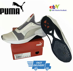 Puma Amp XT Womens Gym Casual Sport Trainers Shoes White Uk 7 (g)