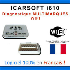 Interface iCARSOFT i610 WIFI - Puce ELM327 ÉVOLUTIVE - Diag OBD - COM OBDII