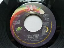 SHALAMAR - I Want You (To Be My Plaything) 1988 DOWNTEMPO DISCO ELECTRO 7""