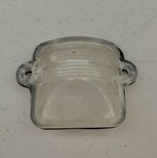 Vtg. '74 Genuine Volkswagen Super Beetle License Plate Light Clear Lens w/ Seal