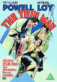 The Thin Man (1934) - UK PAL DVD, region 2 - William Powell/Myrna Loy