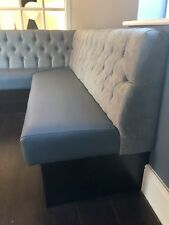 Fixed bench seating/Bars/Restaurants/pubs/clubs/kitchen/dining Room/deep Button