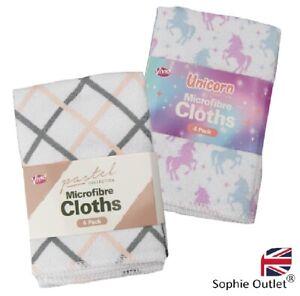 4pack Microfiber Kitchen Towel Cleaning Cloths Home Tea Towels Bar Restaurant UK
