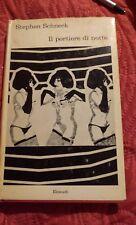 """Schneck Stephen """"Il portiere di notte"""" Einaudi, 1968"""