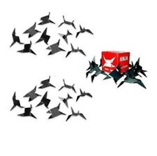 NINJA CALTROPS Spikes Tactical MAKIBISHI TETSUBISHI Black 30 Pack
