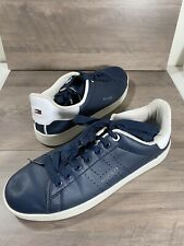 Tommy Hillfiger -leather tennis shoes.Size 8. Eur 41 Classic Style!