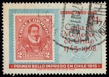 """CHILE C289 (Mi700) - State Mint """"Pedro de Dalvidia Stamp of 1911"""" (pa4940)"""