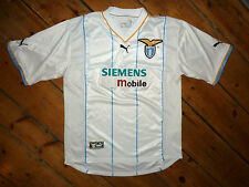 ss LAZIO SHIRT+  LARGE + 3rd KIT EURO soccer JERSEY +  CHAMPIONS LEAGUE 2002