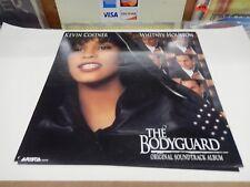 Bodyguard Whitney Houston Kevin Costner Rare! Promo Poster Flat Original Vintage