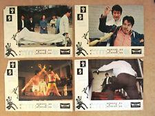 -Set of 12 - Blind Boxer (Chen Lee) Kung Fu Hong Kong Lobby Card 70s