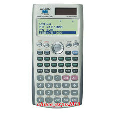 Brand New Casio Financial Calculator FC-200V (FC 200V/100V) ORIGINAL PACKING J01